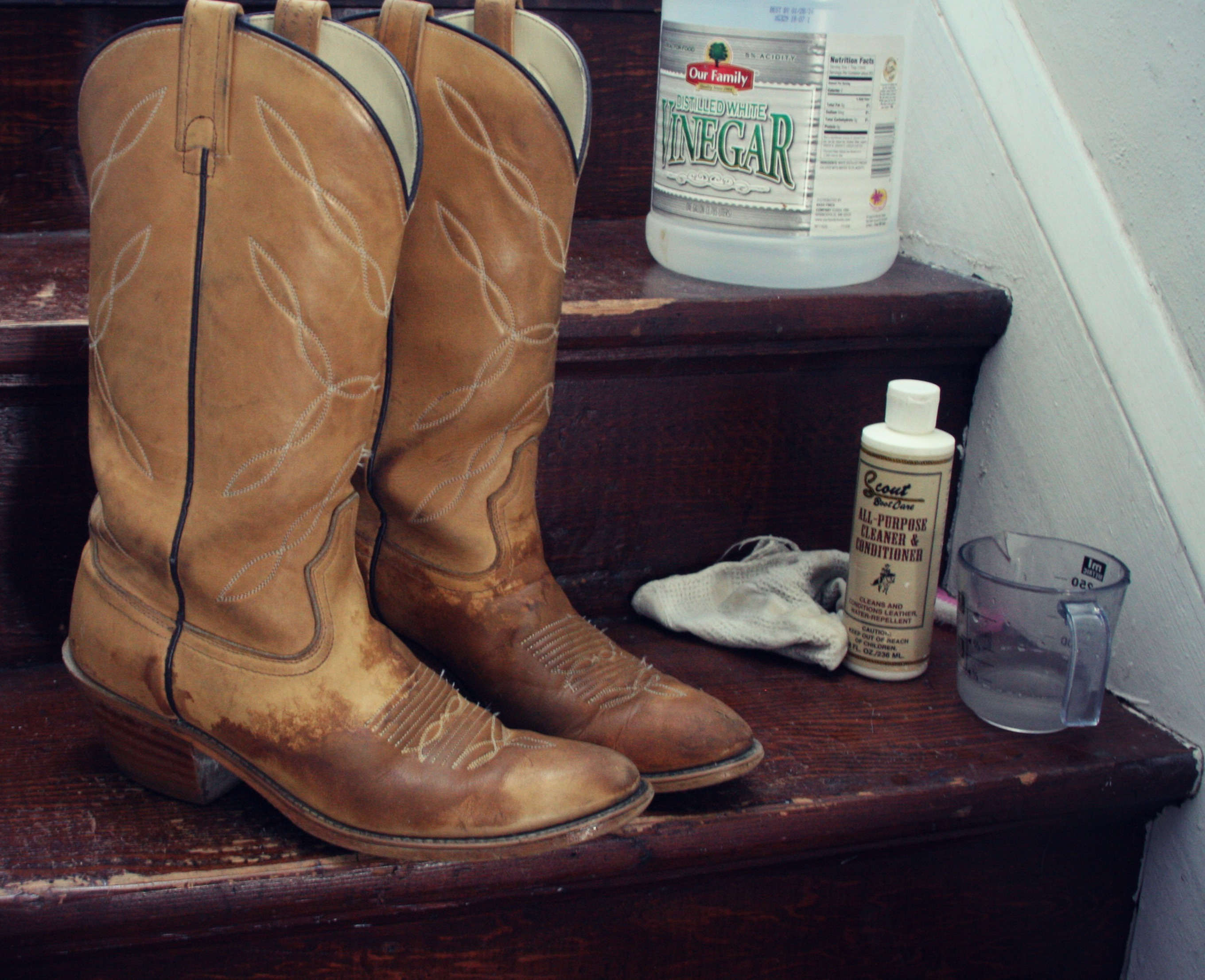 how to: remove salt stains from boots | high plains thrifter