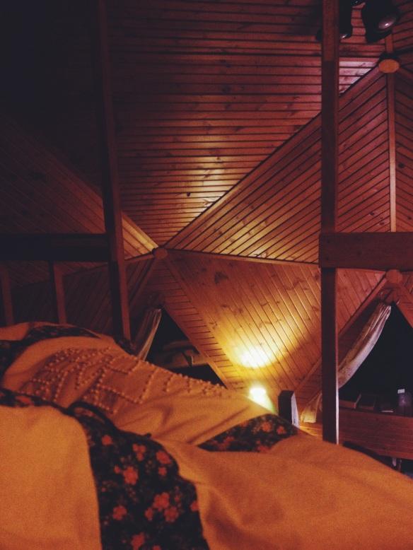 high plains thrifter // clare's well // loft bed coziness