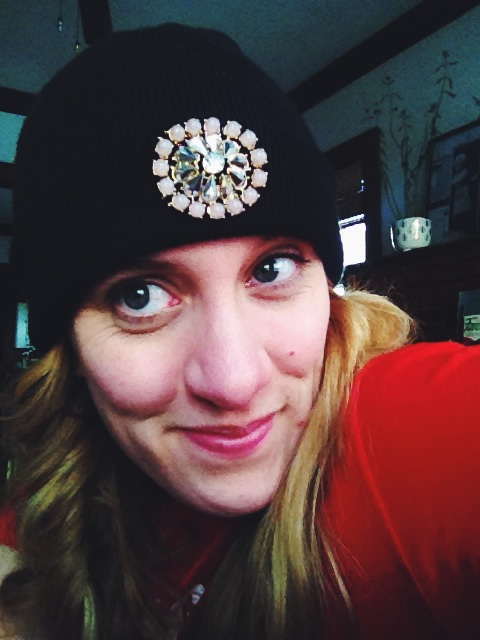 high plains thrifter // diy bejewelled beanie