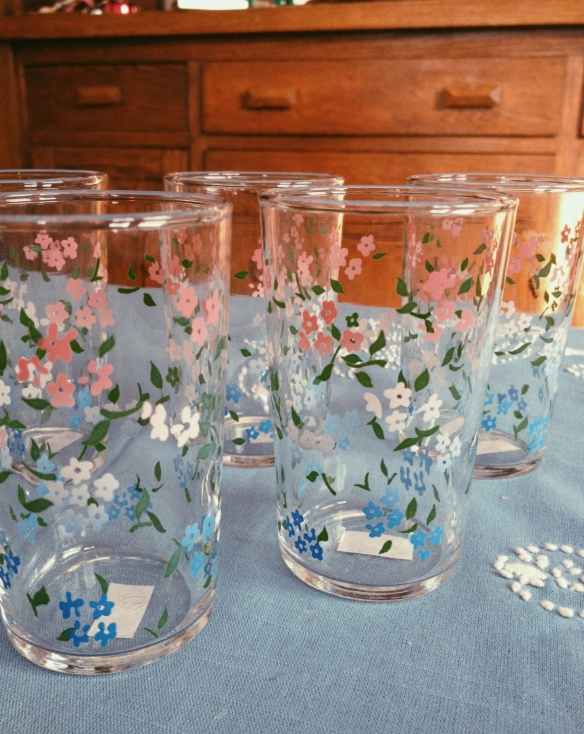 high plains thrifter // juice glasses