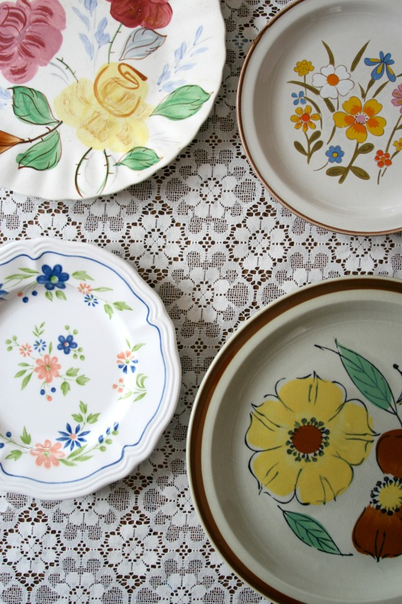 high plains thrifter // floral dishes