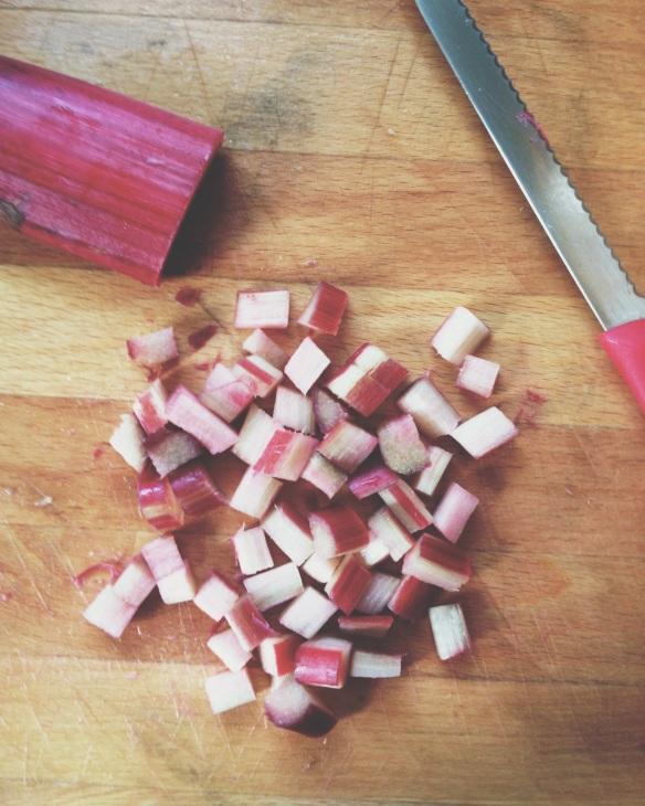 high plains thrifter // vintage bisquick rhubarbette recipe