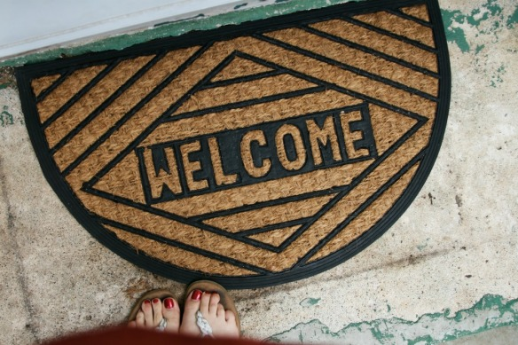welcome mat // goodwill